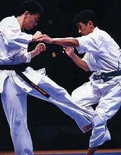 軽量級では一線を退いた山本健策に代わり、谷川、成嶋という天才二人が表舞台に登場。この二人のライバルはのちに「竜光時代」といわれる軽量級の一時代を築くこととなる(写真:軽量級決勝・谷川/左 対 成嶋/右