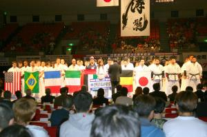 第1回 白蓮会館世界空手道選手権大会 大阪
