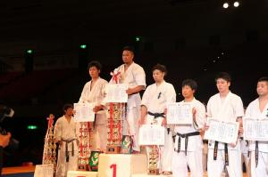 2014 第30回全日本ウェイ制空手道選手権大会、第19回全日本少年少女選手権大会 グランドチャンピオン(高校生)