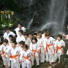 2007 寒稽古 滝浴び