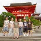 200607南アフリカチーム 京都観光